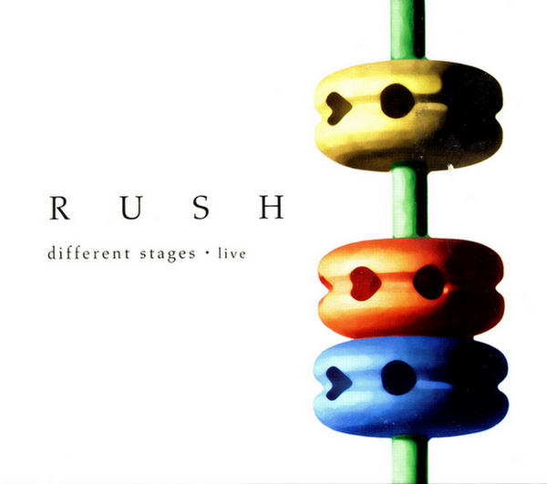 Different Stages: Live Disc 3 by Rush